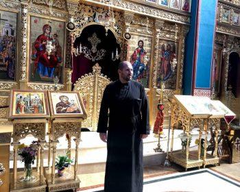 Новият предстоятел на храма – о. Любомир Стоянов